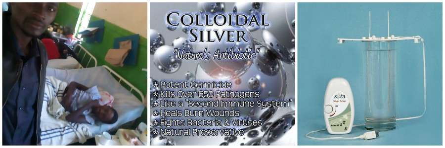 Colloidal Silver Cure Malaria Africa GMFC