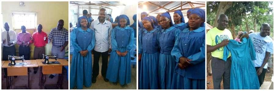 GMFC WFF Sewing Program Kibera Slum Siaya Kenya Moyale Ethiopia Bangladesh ChristianCollage